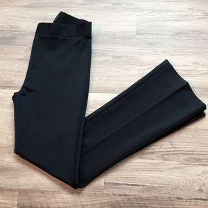 Theory Baxton Techno Jersey pants, black, sz 4
